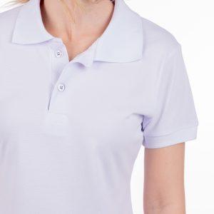 camisa-polo-para-empresa-biodegradavel-feminina-branca-detalhe