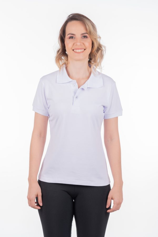 camisa-polo-para-empresa-biodegradavel-feminina-branca-frente