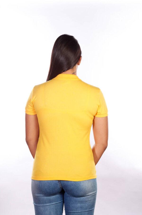 camisa-polo-para-empresa-classica-feminina-amarela-costas