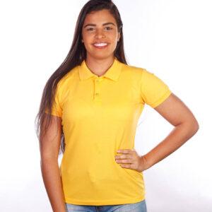 camisa-polo-para-empresa-classica-feminina-amarela-frente