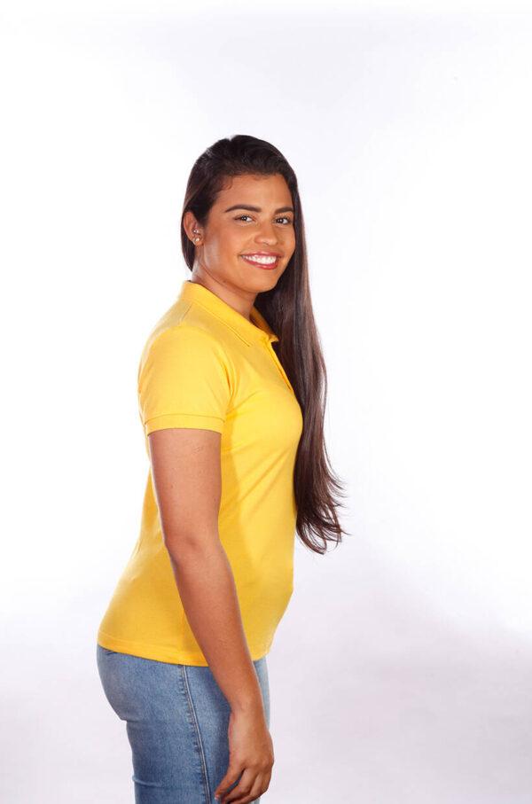 camisa-polo-para-empresa-classica-feminina-amarela-lado-2