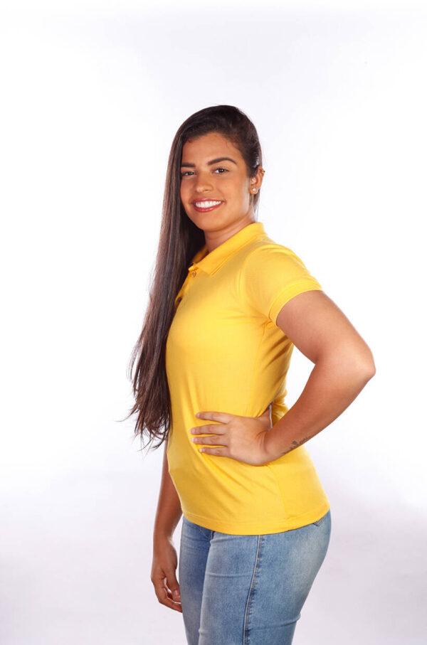 camisa-polo-para-empresa-classica-feminina-amarela-lado