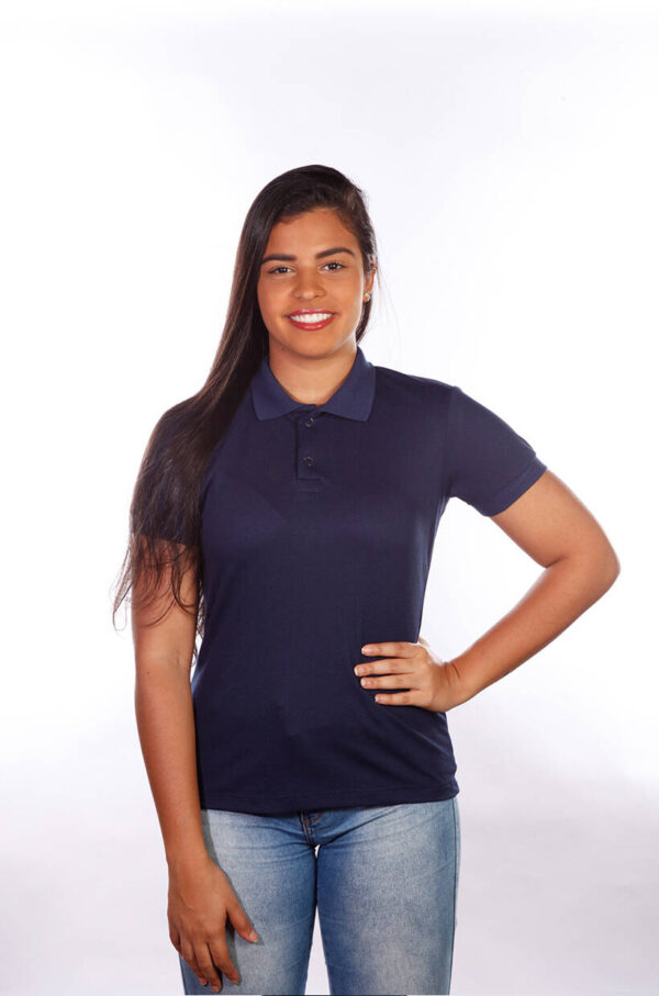camisa-polo-para-empresa-classica-feminina-azul-marinho-frente