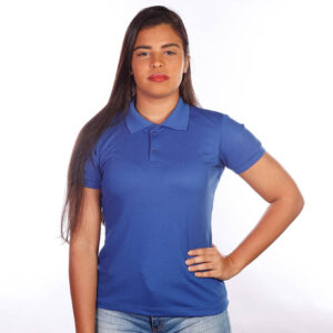 camisa-polo-para-empresa-classica-feminina-azul-royal-frente