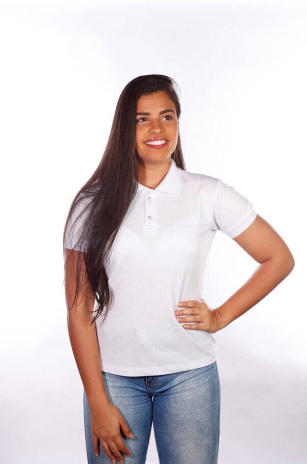 camisa-polo-para-empresa-classica-feminina-branca-detalhe