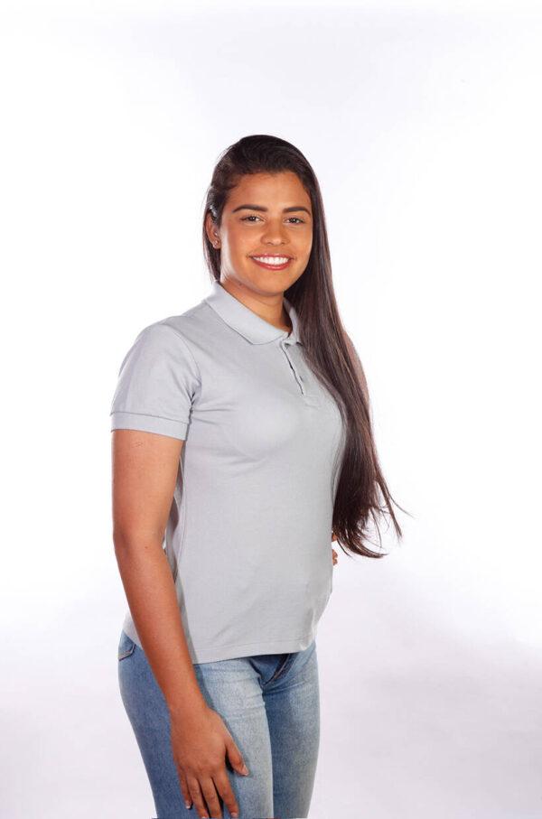 camisa-polo-para-empresa-classica-feminina-cinza-lado-2
