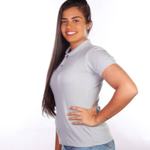 camisa-polo-para-empresa-classica-feminina-cinza-lado