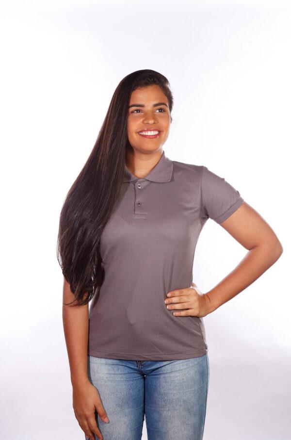 camisa-polo-para-empresa-classica-feminina-grafite-detalhe