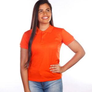camisas-polo-para-empresa-classica-feminina-laranja-detalhe