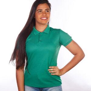 camisa-polo-para-empresa-classica-feminina-verde-bandeira-detalhe