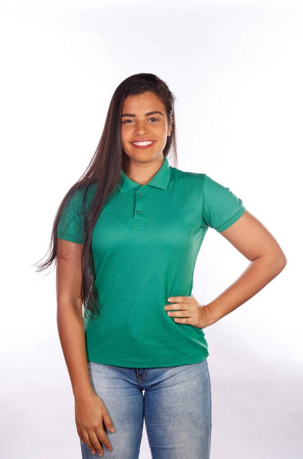 camisa-polo-para-empresa-classica-feminina-verde-bandeira-frente