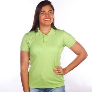 camisa-polo-para-empresa-classica-feminina-verde-limão-detalhe