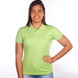 camisa-polo-para-empresa-classica-feminina-verde-limao-frente