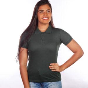 camisa-polo-para-empresa-classica-feminina-verde-musgo-detalhe