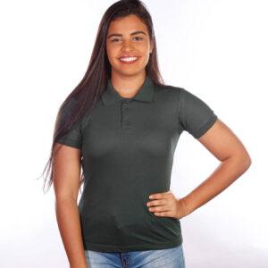 camisa-polo-para-empresa-classica-feminina-verde-musgo-frente