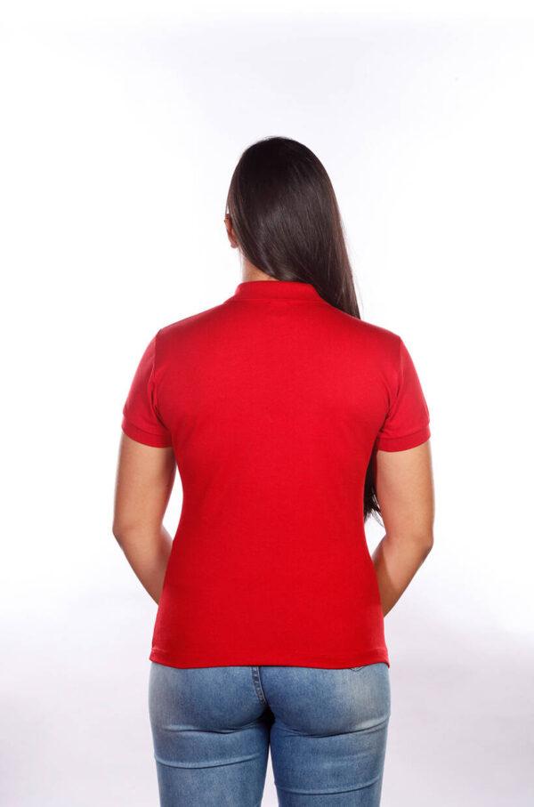 camisa-polo-para-empresa-classica-feminina-vermelha-costas