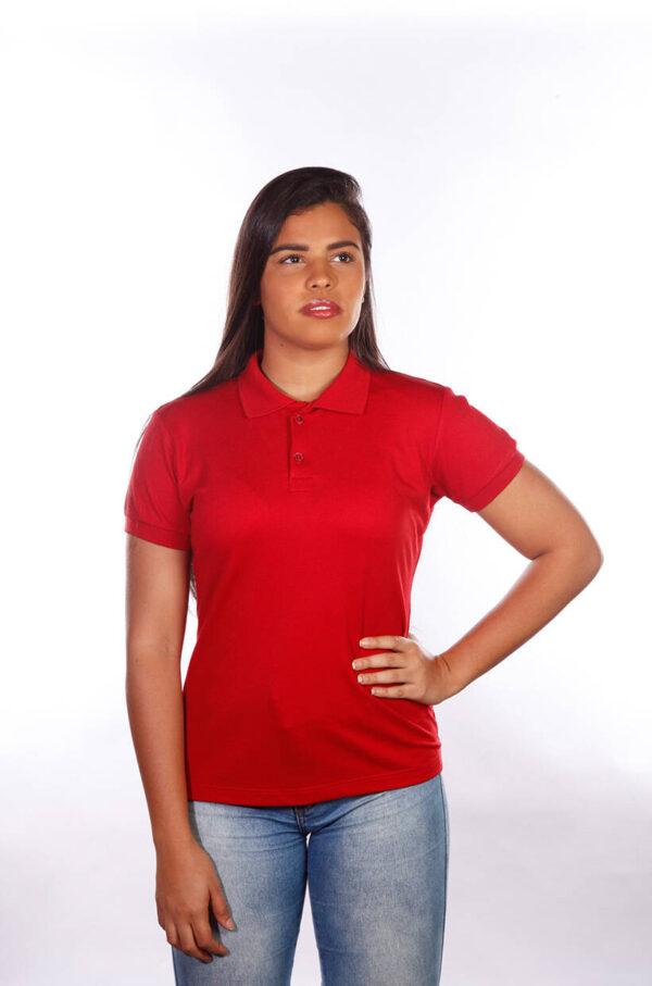 camisa-polo-para-empresa-classica-feminina-vermelha-detalhe