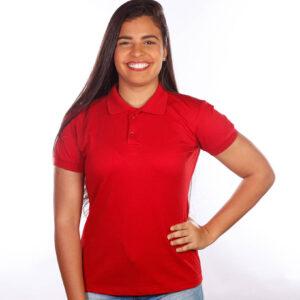 camisa-polo-para-empresa-classica-feminina-vermelha-frente