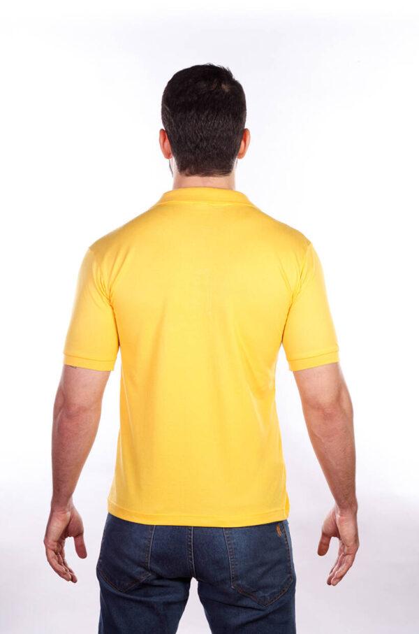 camisa-polo-para-empresa-classica-masculina-amarela-costas