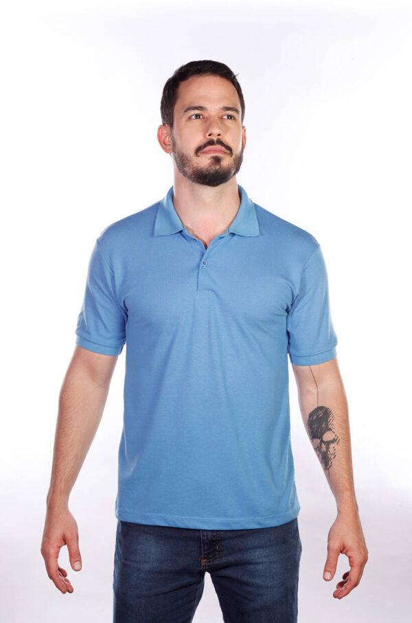 camisa-polo-para-empresa-classica-masculina-azul-celeste-detalhe