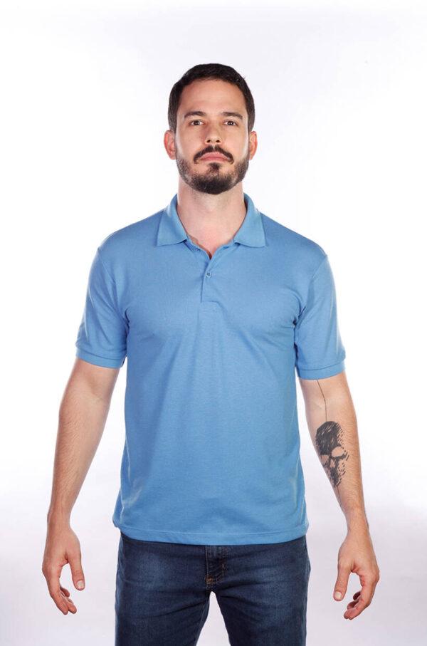 camisa-polo-para-empresa-classica-masculina-azul-celeste-frente