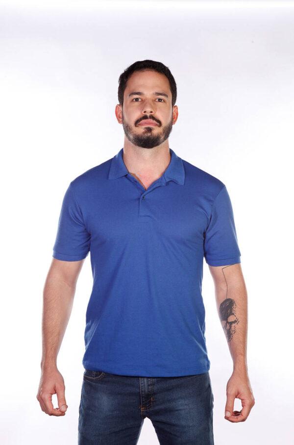 camisa-polo-para-empresa-classica-masculina-azul-royal- frente