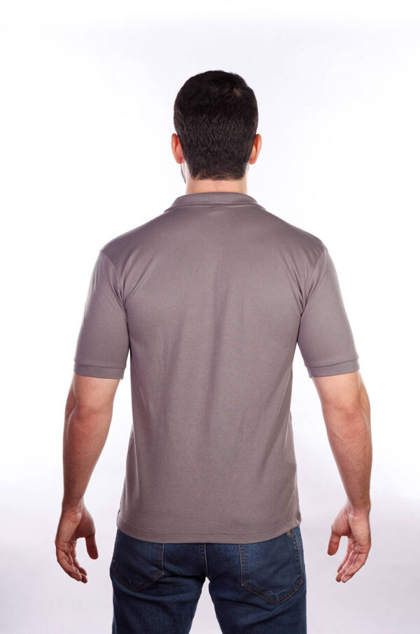 camisa-polo-para-empresa-classica-masculina-grafite-costas