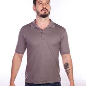 camisa-polo-para-empresa-classica-masculina-grafite-detalhe