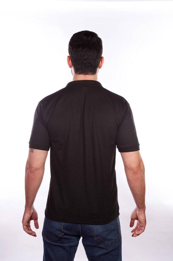 camisa-polo-para-empresa-classica-masculina-preta-costas