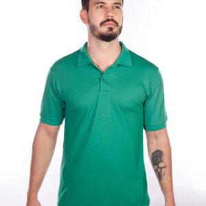 camisa-polo-para-empresa-classica-masculina-verde-bandeira-detalhe