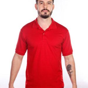 camsia-polo-para-empresa-classica-masculina-vermelha-frente