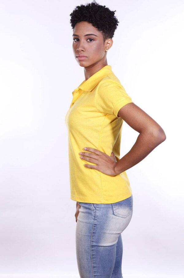 camisa-polo-para-empresa-ecoline-feminina-amarela-lado
