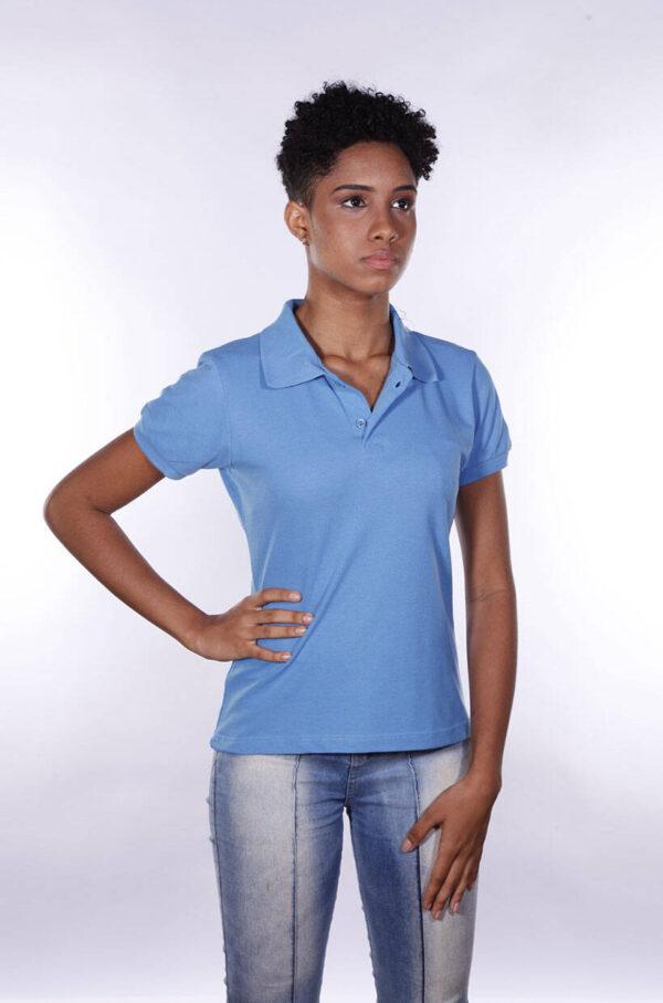 camisa-polo-para-empresa-ecoline-feminina-azul-celeste-detalhe