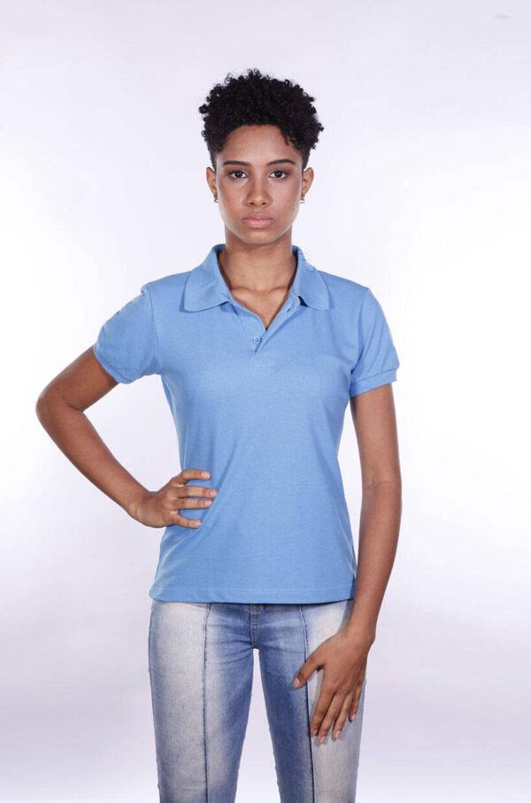 camisa-polo-para-empresa-ecoline-feminina-azul-celeste-frente