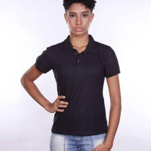 camisa-polo-para-empresa-ecoline-feminina-preta-frente