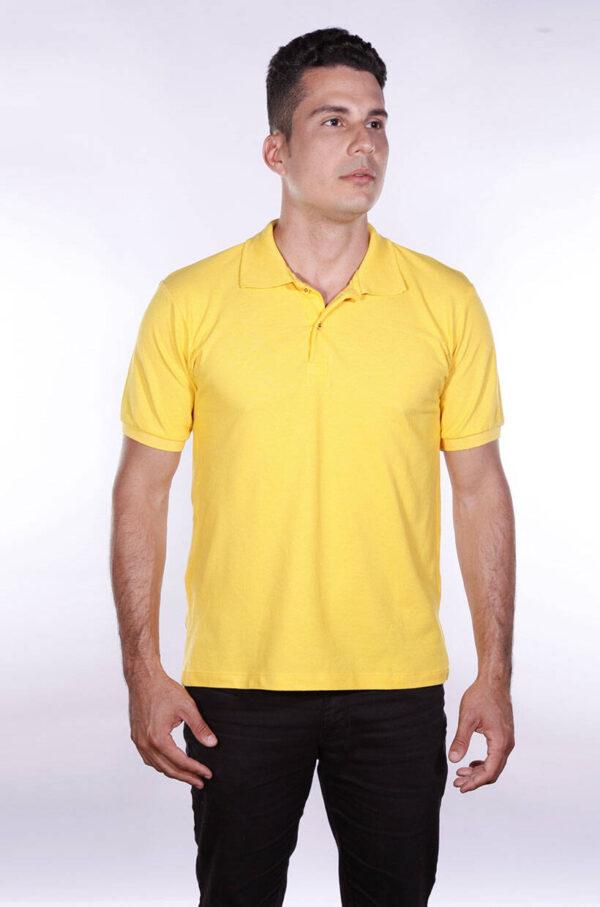 camisas-polo-para-empresa-ecoline-masculina-amarela-detalhe