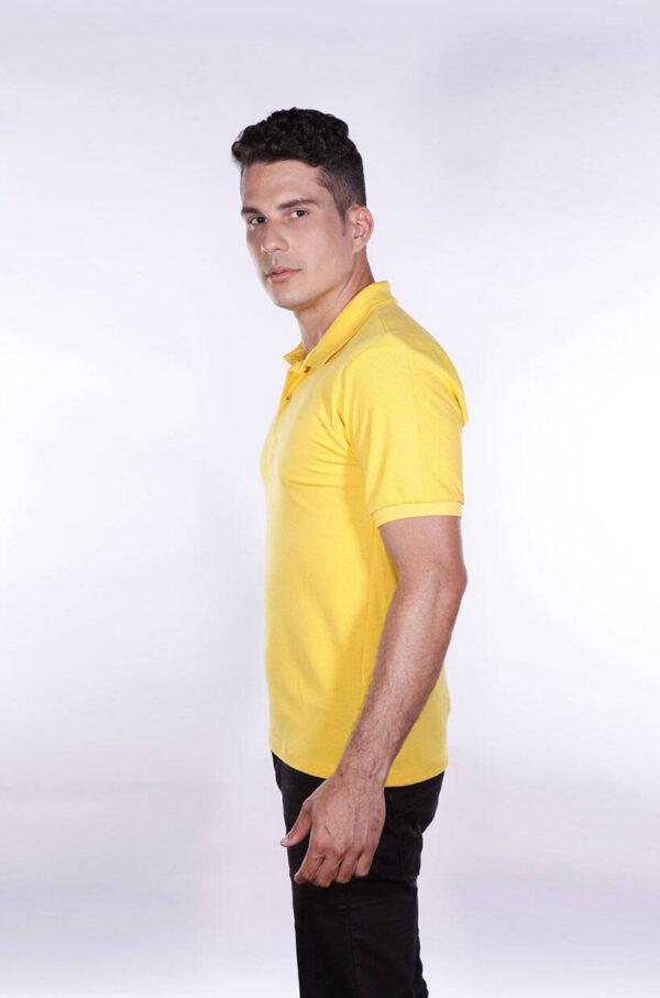camisas-polo-para-empresa-ecoline-masculina-amarela-lado