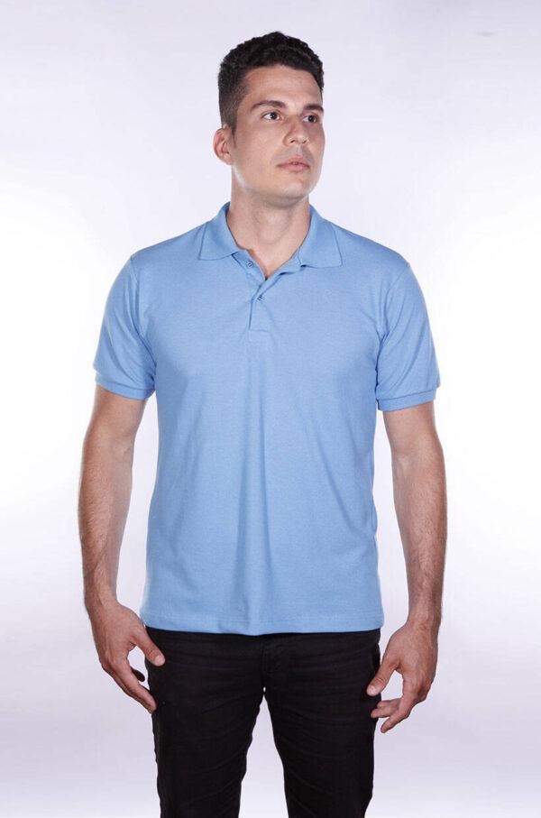 camisa-polo-para-empresa-ecoline-masculina-azul-celeste-detalhe