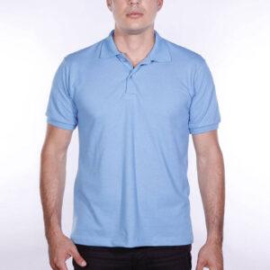 camisa-polo-para-empresa-ecoline-masculina-azul-celeste-frente