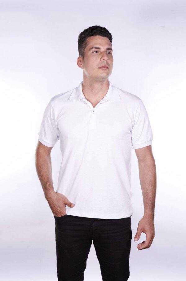 camisa-polo-para-empresa-ecoline-masculina-branca-detalhe
