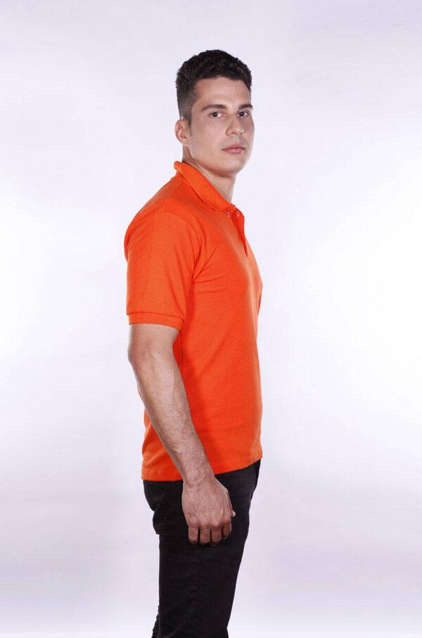 camisa-polo-para-empresa-ecoline-masculina-laranja-lado-2