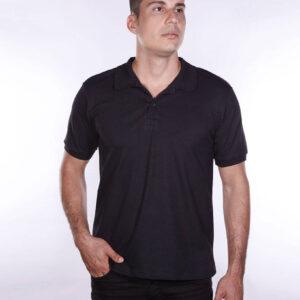 camisa-polo-para-empresa-ecoline-masculina-preta-detalhe