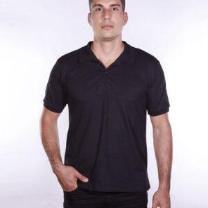 camisa-polo-para-empresa-ecoline-masculina-preta-frente