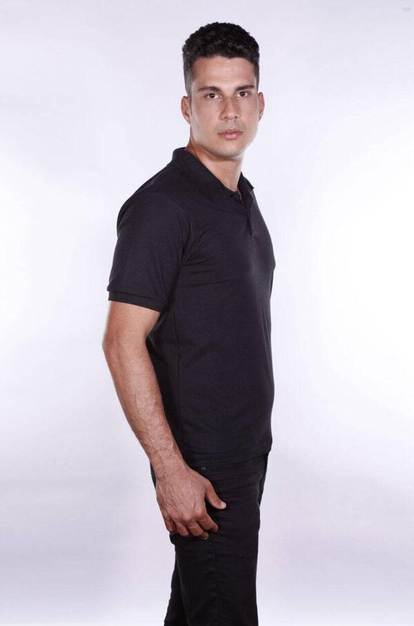 camisa-polo-para-empresa-ecoline-masculina-preta-lado