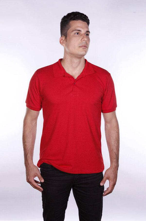 camisa-polo-para-empresa-ecoline-masculina-vermelha-detalhe
