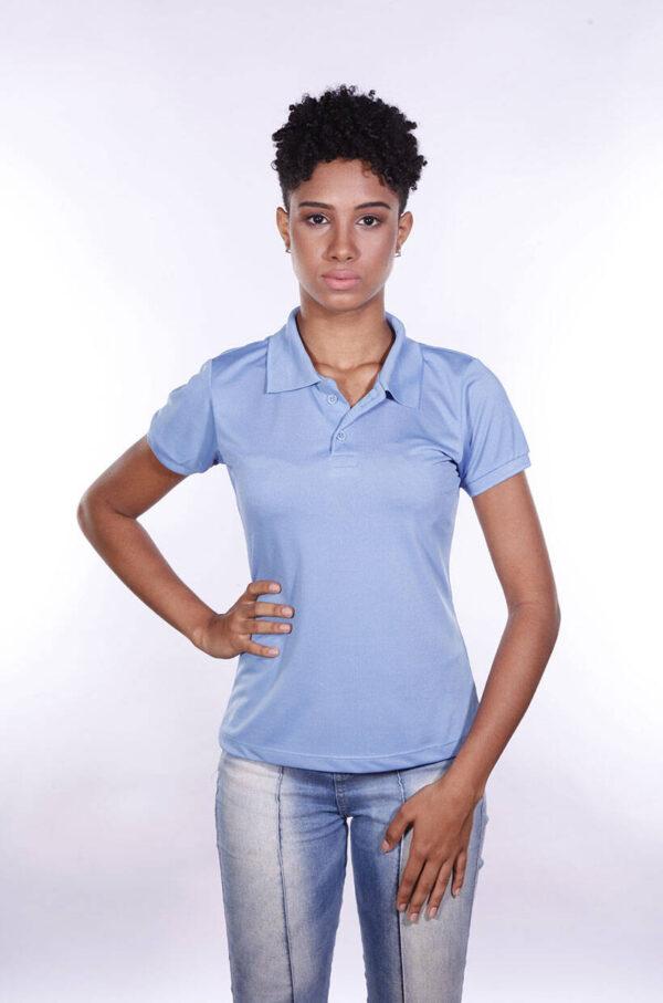 camisa-polo-para-empresa-poliester-feminina-azul-celeste-frente