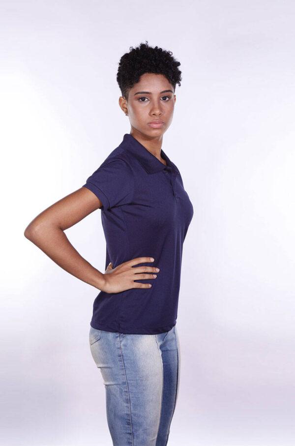 camisa-polo-para-empresa-poliester-feminina-azul-marinho-lado-2
