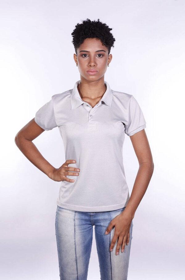 camisa-polo-para-empresa-poliester-feminina-cinza-claro-frente