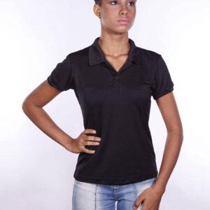 camisa-polo-para-empresa-poliester-feminina-preta-detalhe