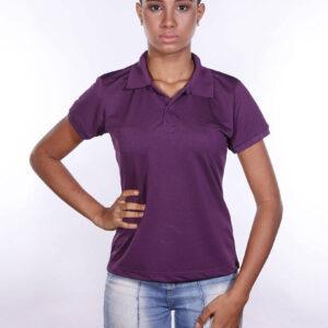 camisa-polo-para-empresa-poliester-feminina-roxa-frente